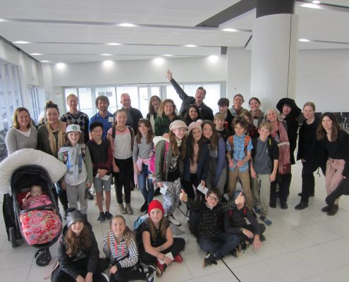 Lance Holt School camp - traveling to Canberra