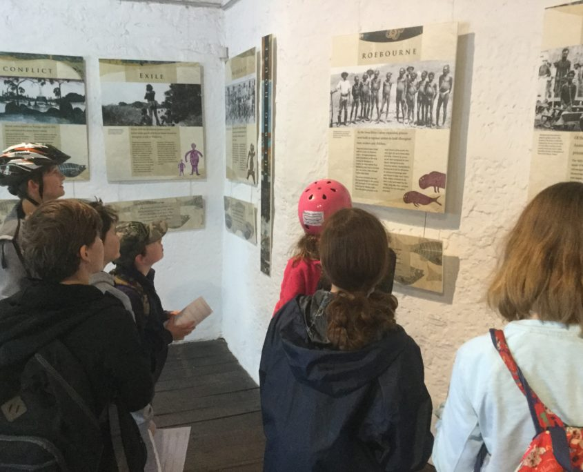 learning about the aboriginals at rottnest