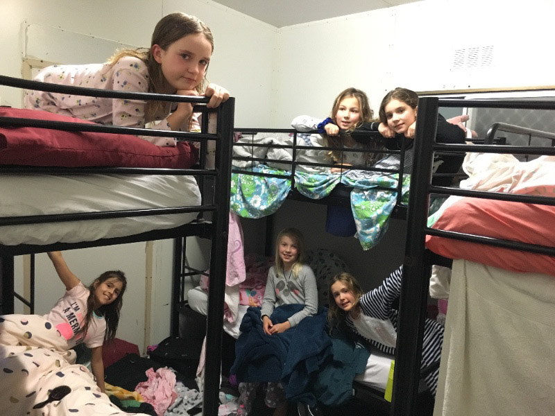 camp bunks