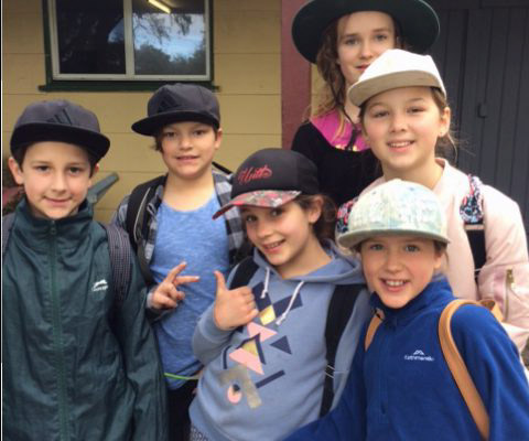 Students on school camp to Busselton