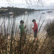 science class exploring the swan river - natural positive education WA