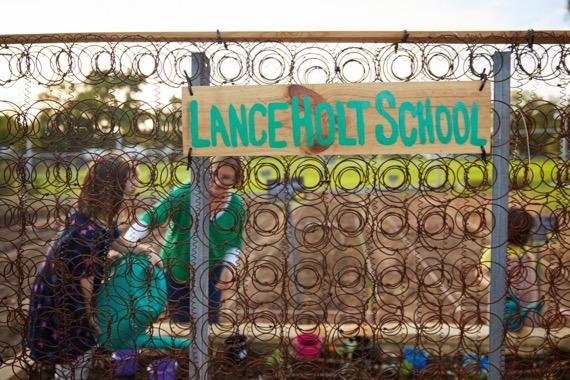 lance holt school gardens