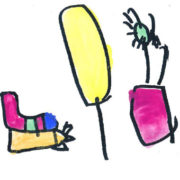 a kids drawing