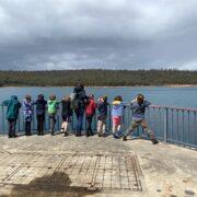 Bush School Weir Dam